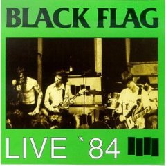 Black Flag - Live '84 Record