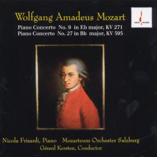 Wolfgang Amadeus Mozart - Piano Concerto No.9 In Eb Major,kv 271 - Piano Concerto No.27 In Bb Major,kv 595
