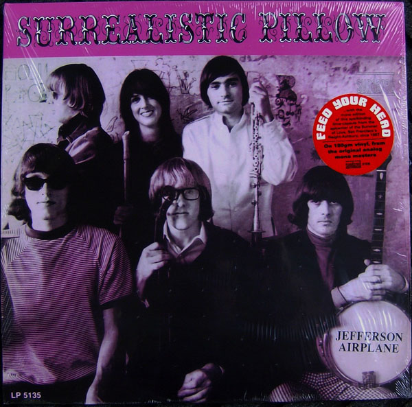 Jefferson Airplane - Surrealistic Pillow EP