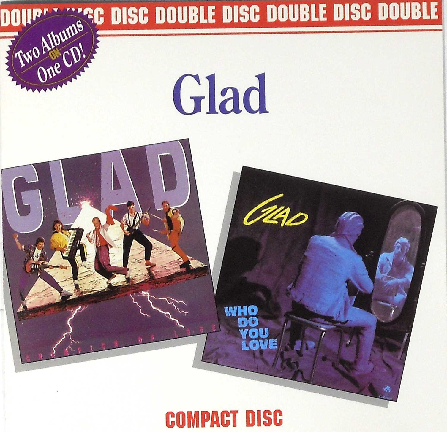 Glad - Champion Of Love/who Do You Love