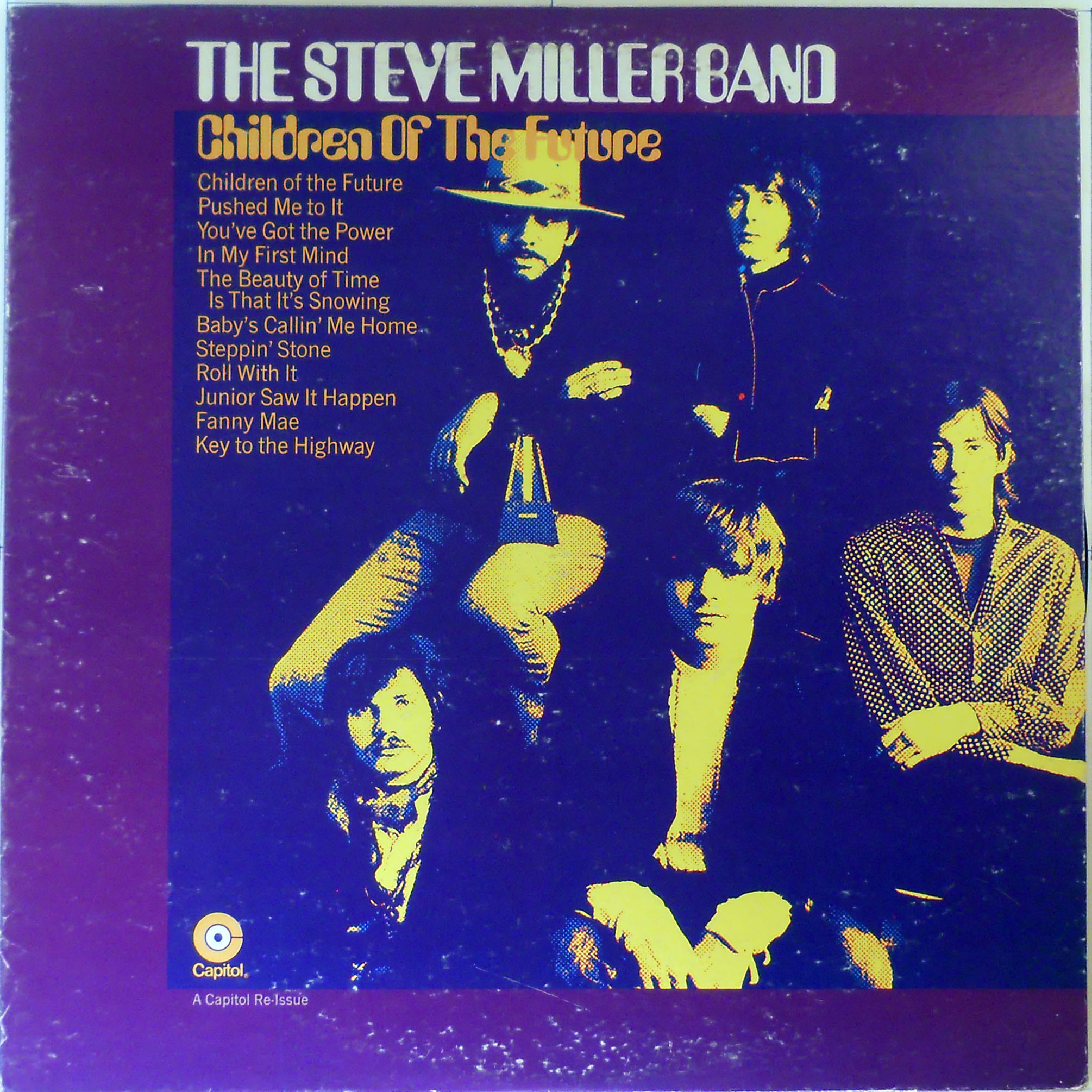 Steve Miller Band - Children Of The Future Record