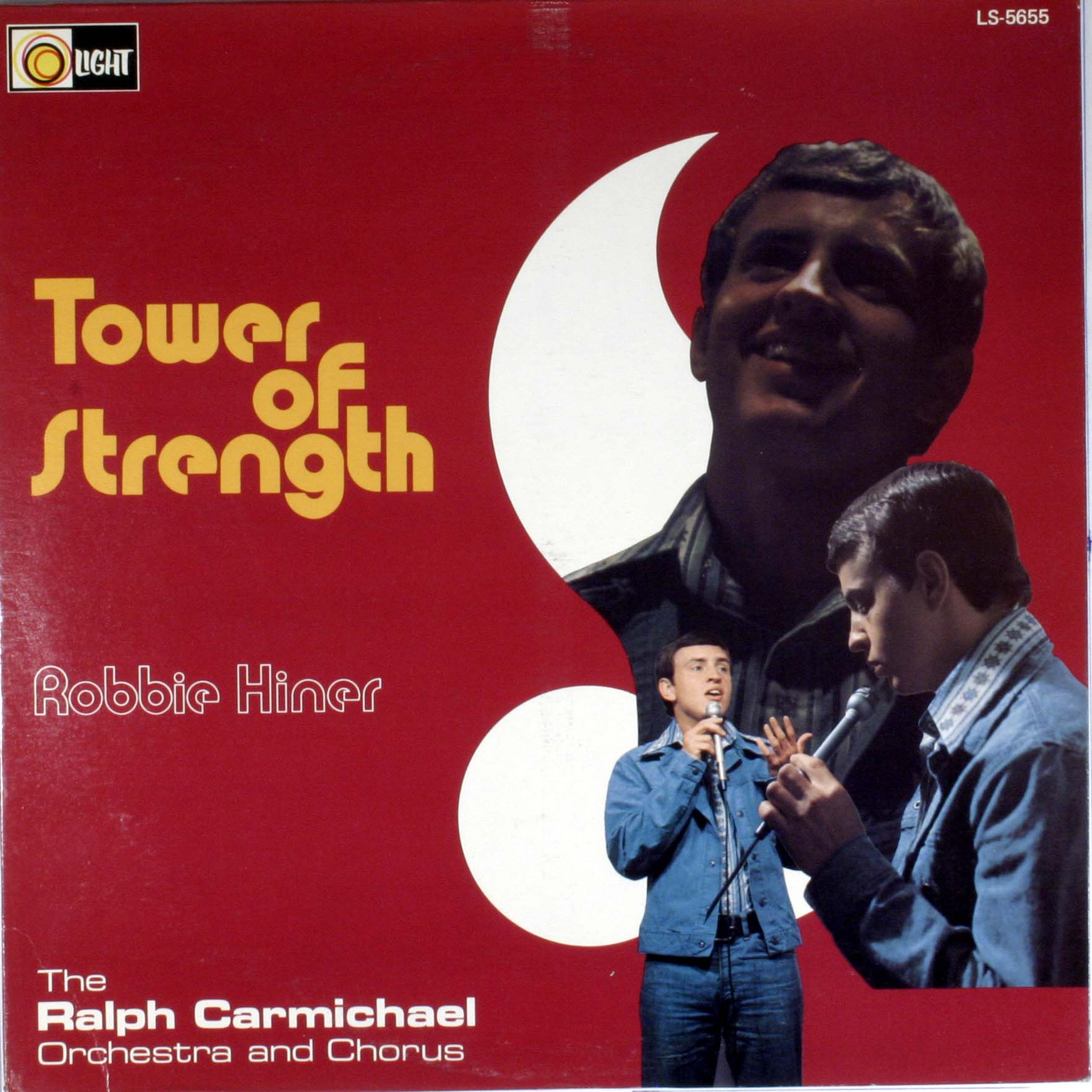 Robbie Hiner Tower Of Strength LP