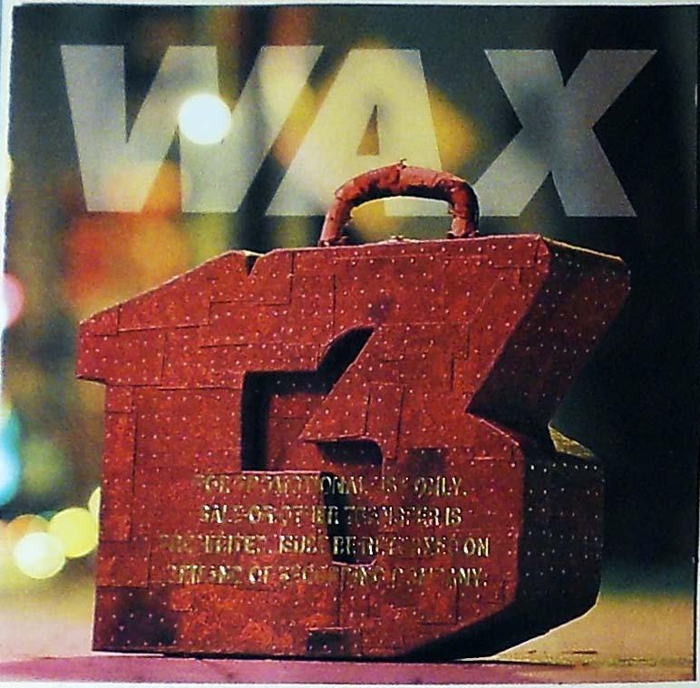 Wax - 13 Unlucky Numbers Album