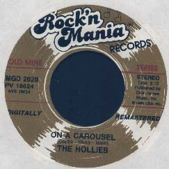 Hollies - On A Carousel / Stop,stop,stop