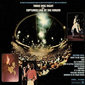 Three Dog Night Captured+Live+At+The+Forum LP