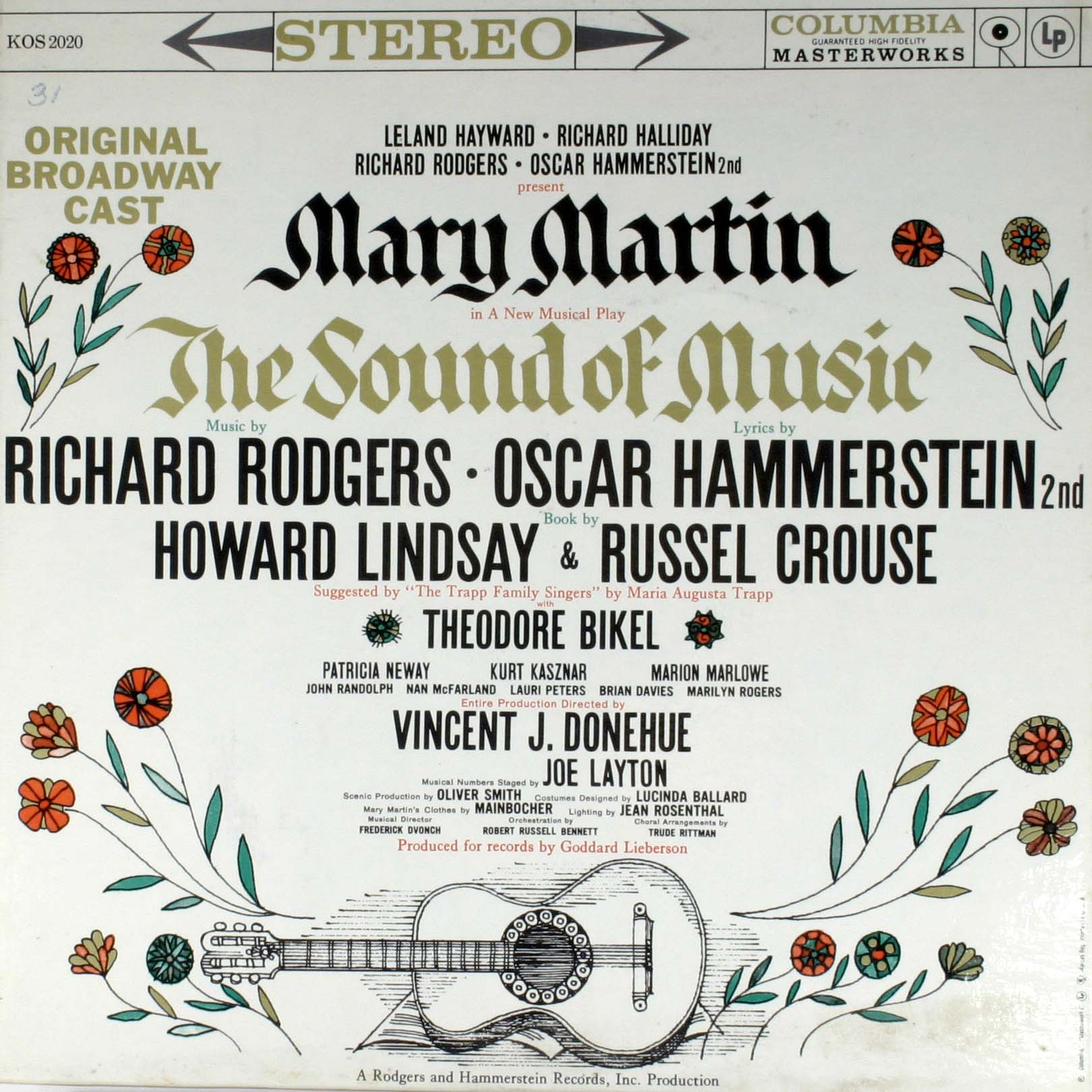 Original Broadway Cast - The Sound Of Music