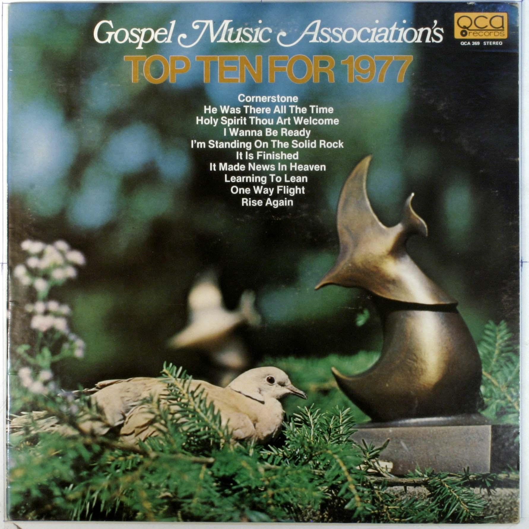 Gospel Music Association - Top Ten For 1977