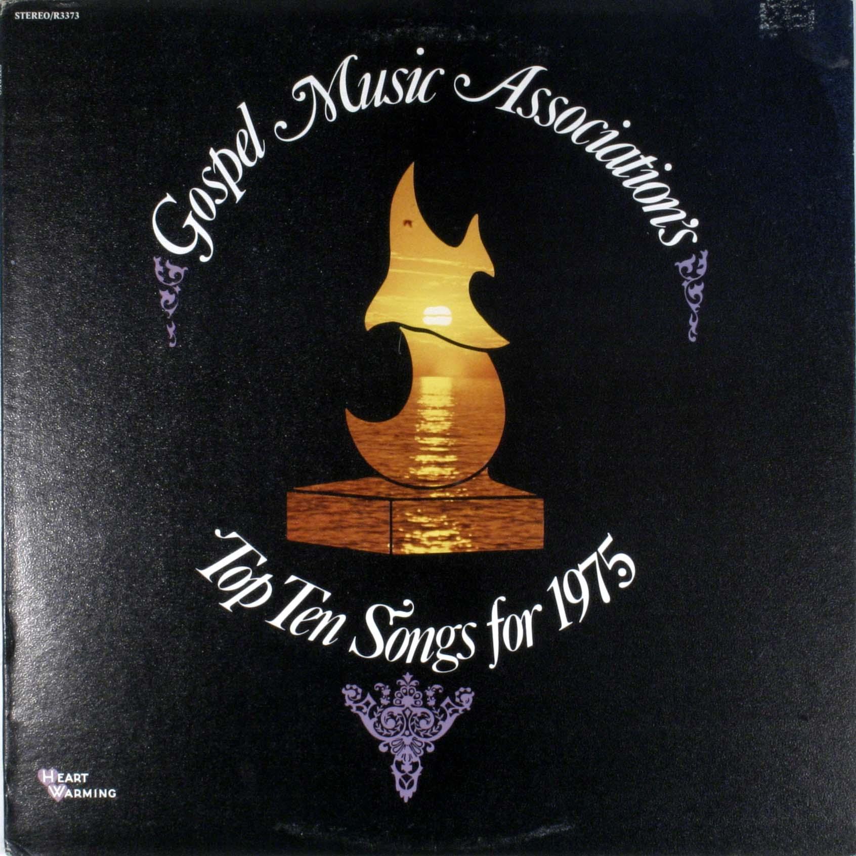 Gospel Music Association - Top Ten Songs For 1975