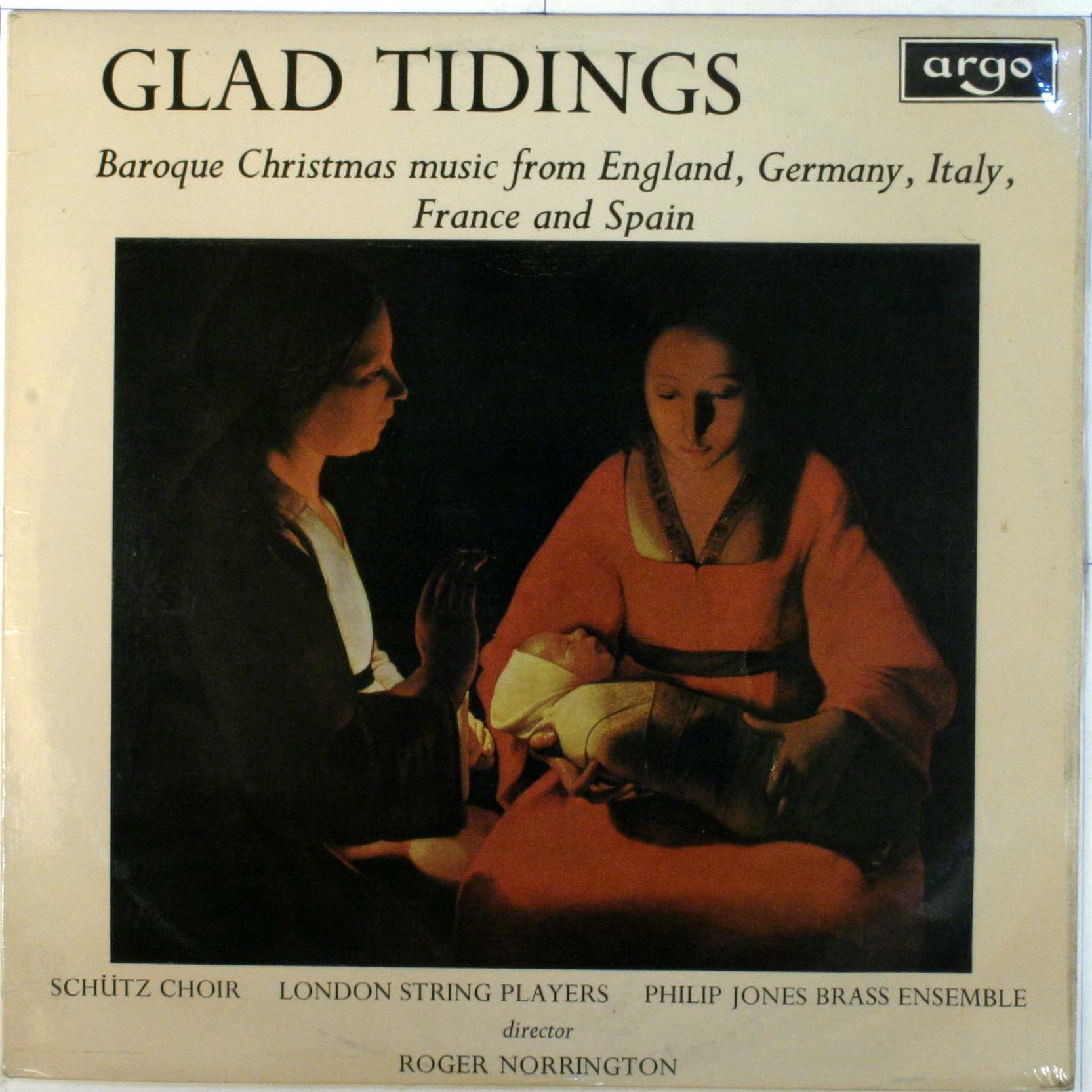 Heinrich Schutz Choir - Glad Tidings: Baroque Christmas Music From England,germany,italy,france And Spain