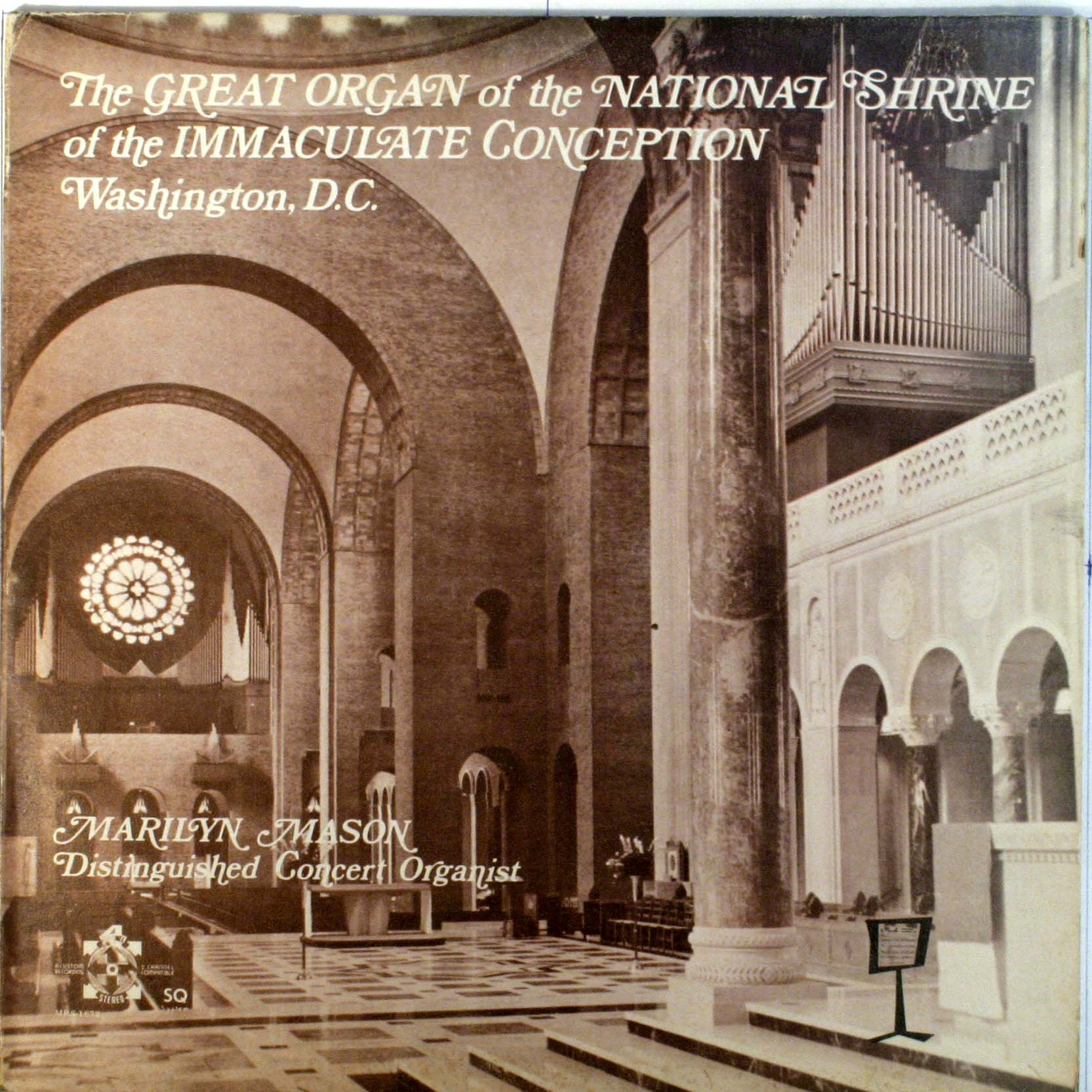 The Great Organ Of The National Shrine Of The Immaculate Conception