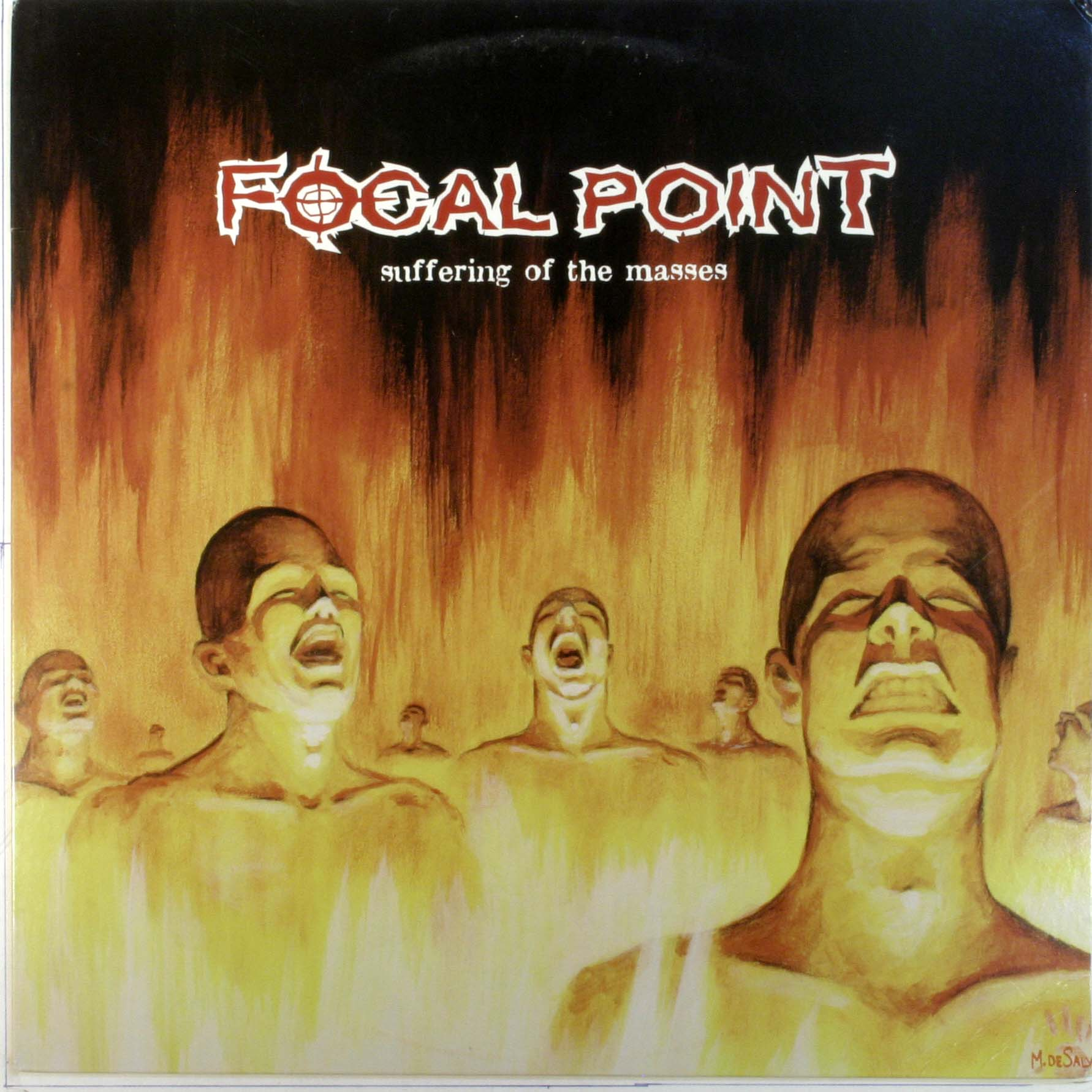 Focal Point Suffering Of The Masses LP