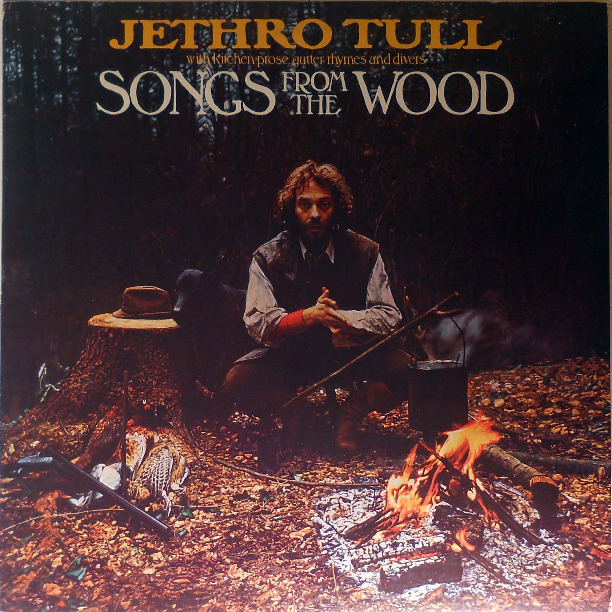 Jethro Tull Songs From The Wood Blue Label Records Lps