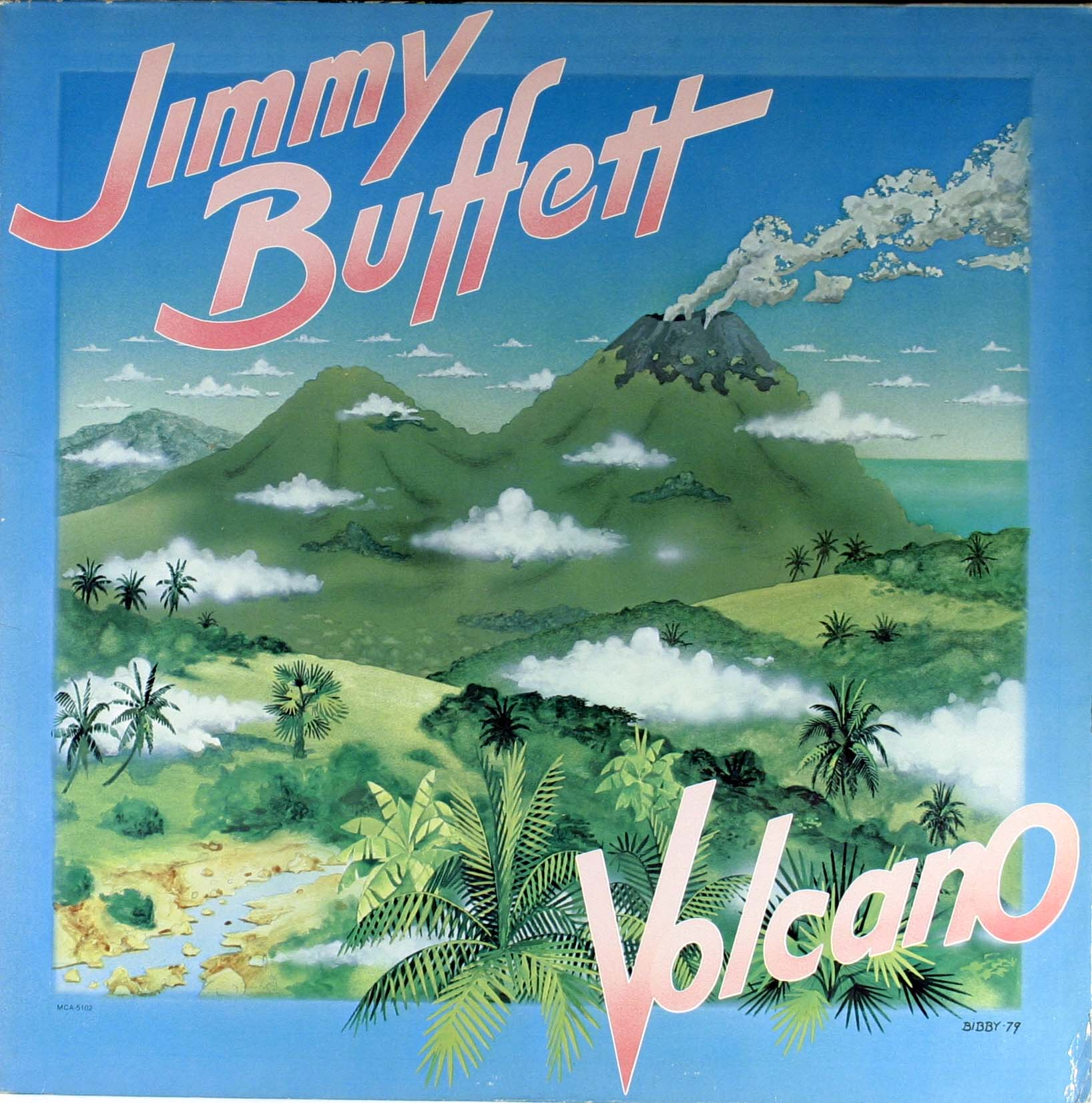 Jimmy Buffett - Volcano Vinyl