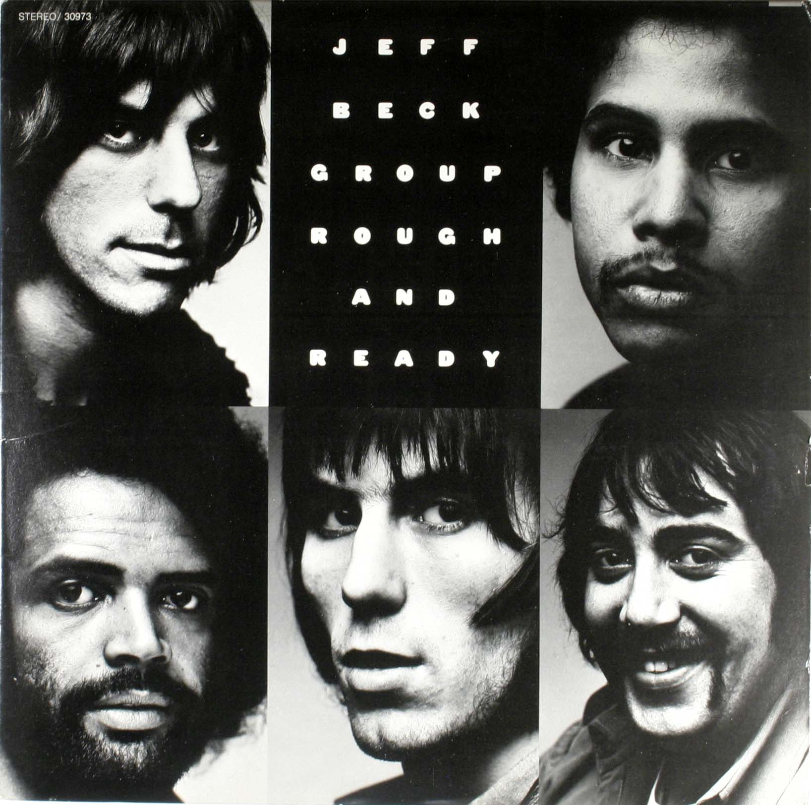 Jeff Beck Group Rough+And+Ready LP