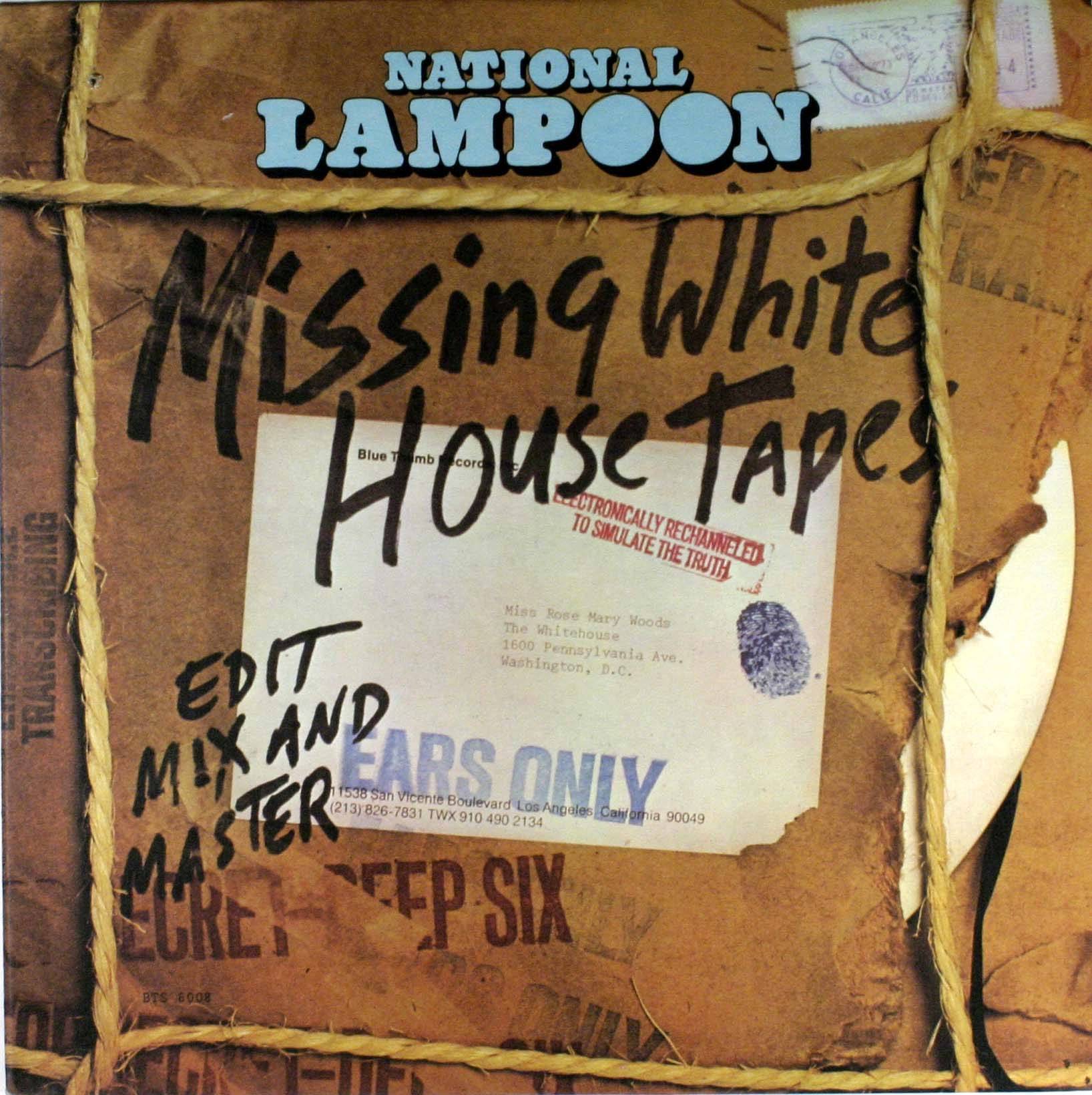 National Lampoon - Missing White House Tapes Album