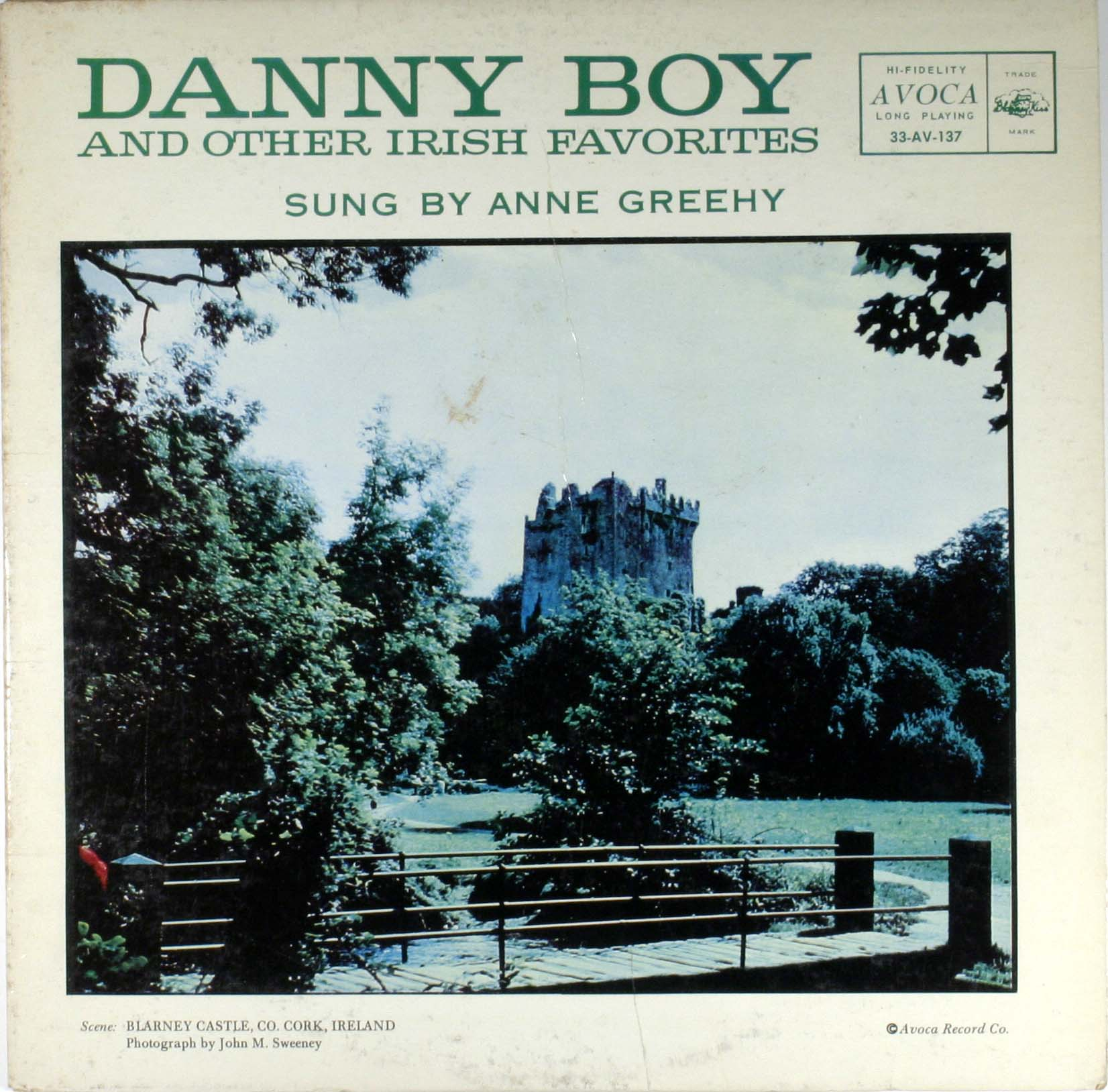 Danny Boy And Other Irish Favorites