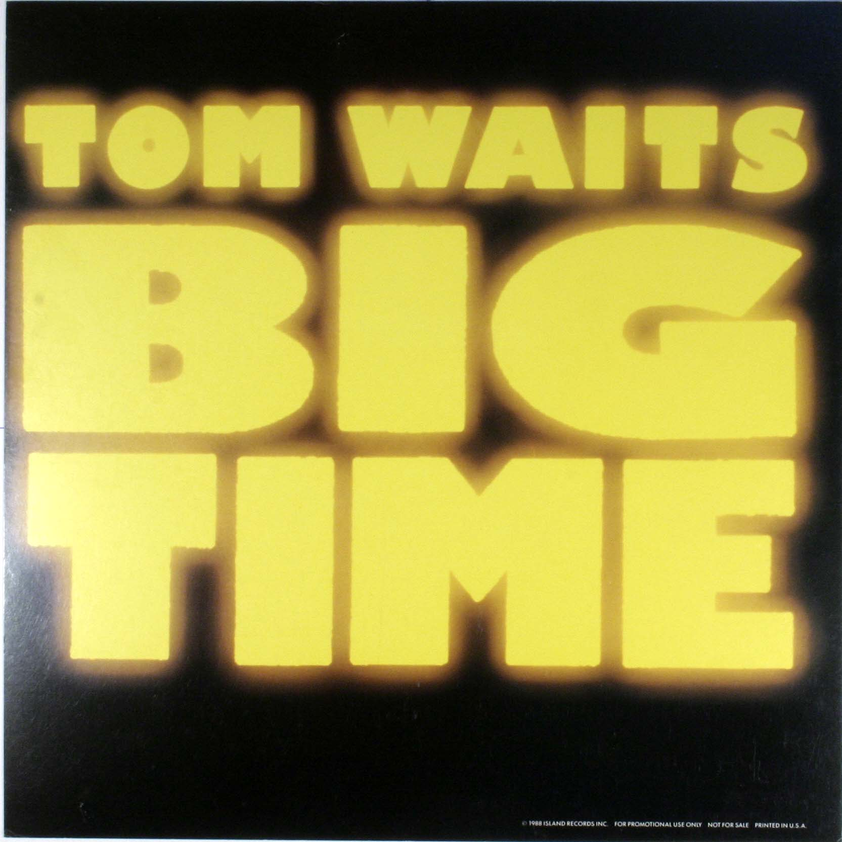 Tom Waits - Big Time Vinyl