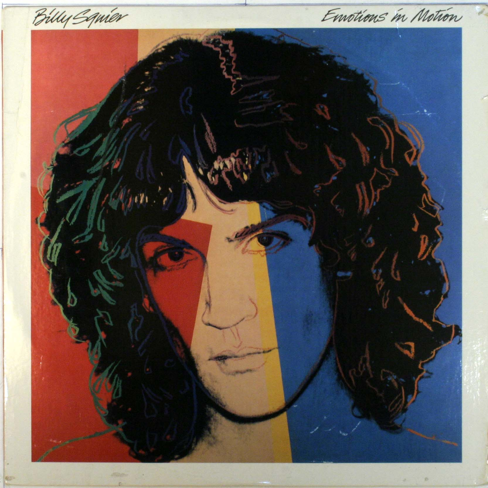 Billy Squier - Emotions In Motion Album