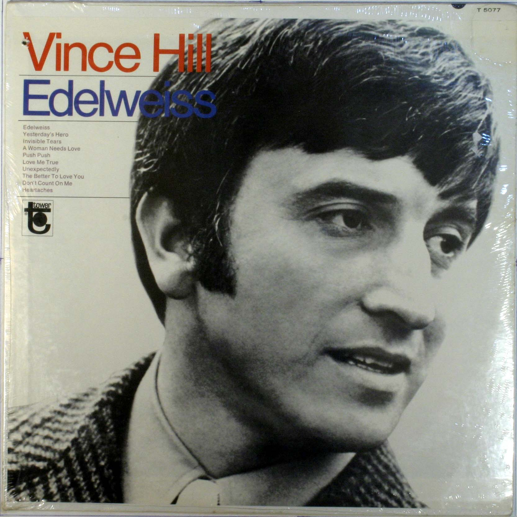 Vince Hill - Edelweiss Record