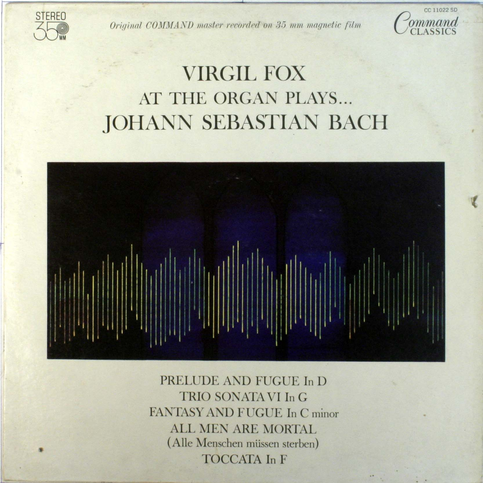 At The Organ Plays Johann Sebastian Bach