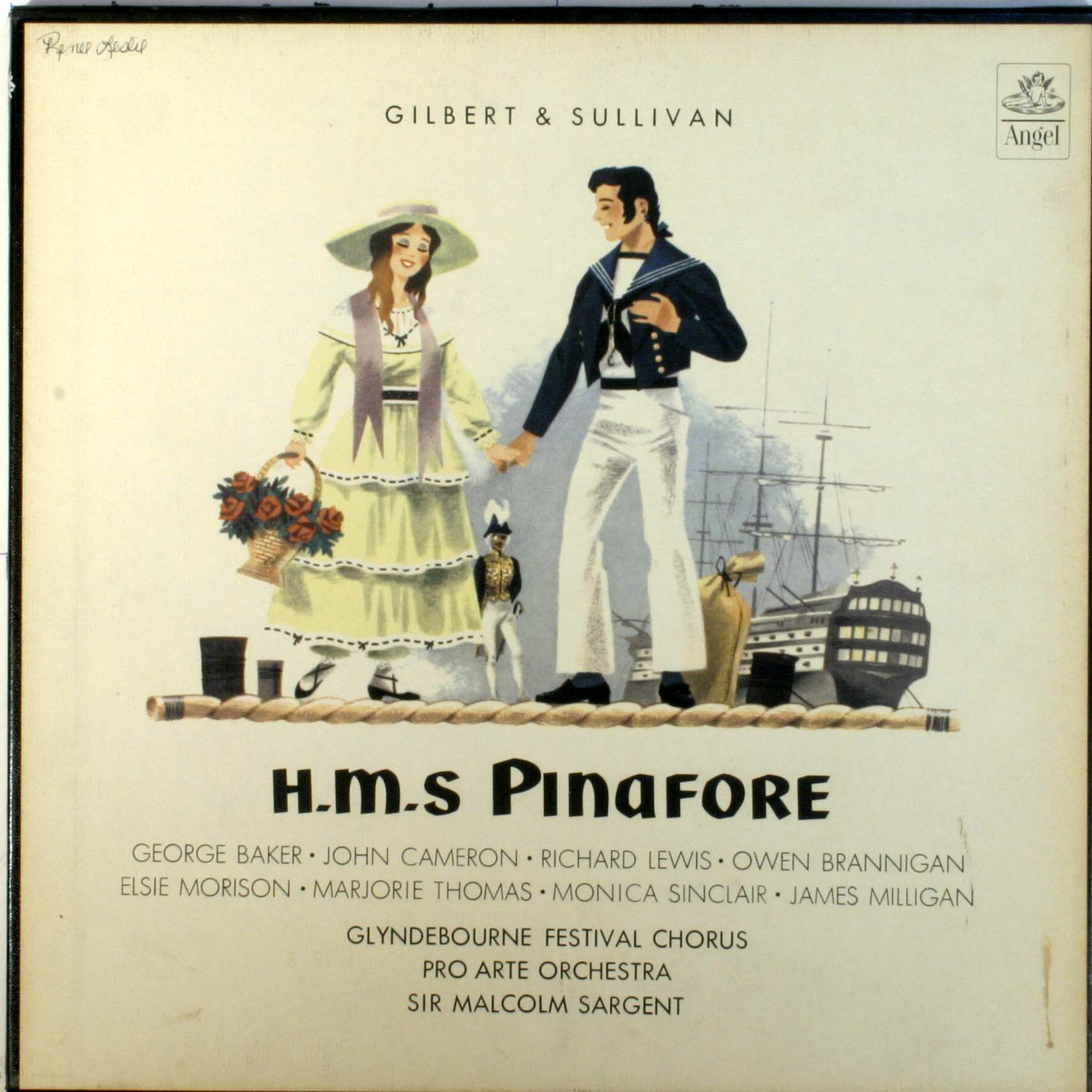 Hms Pinafore Gilbert And Sullivan Dbl