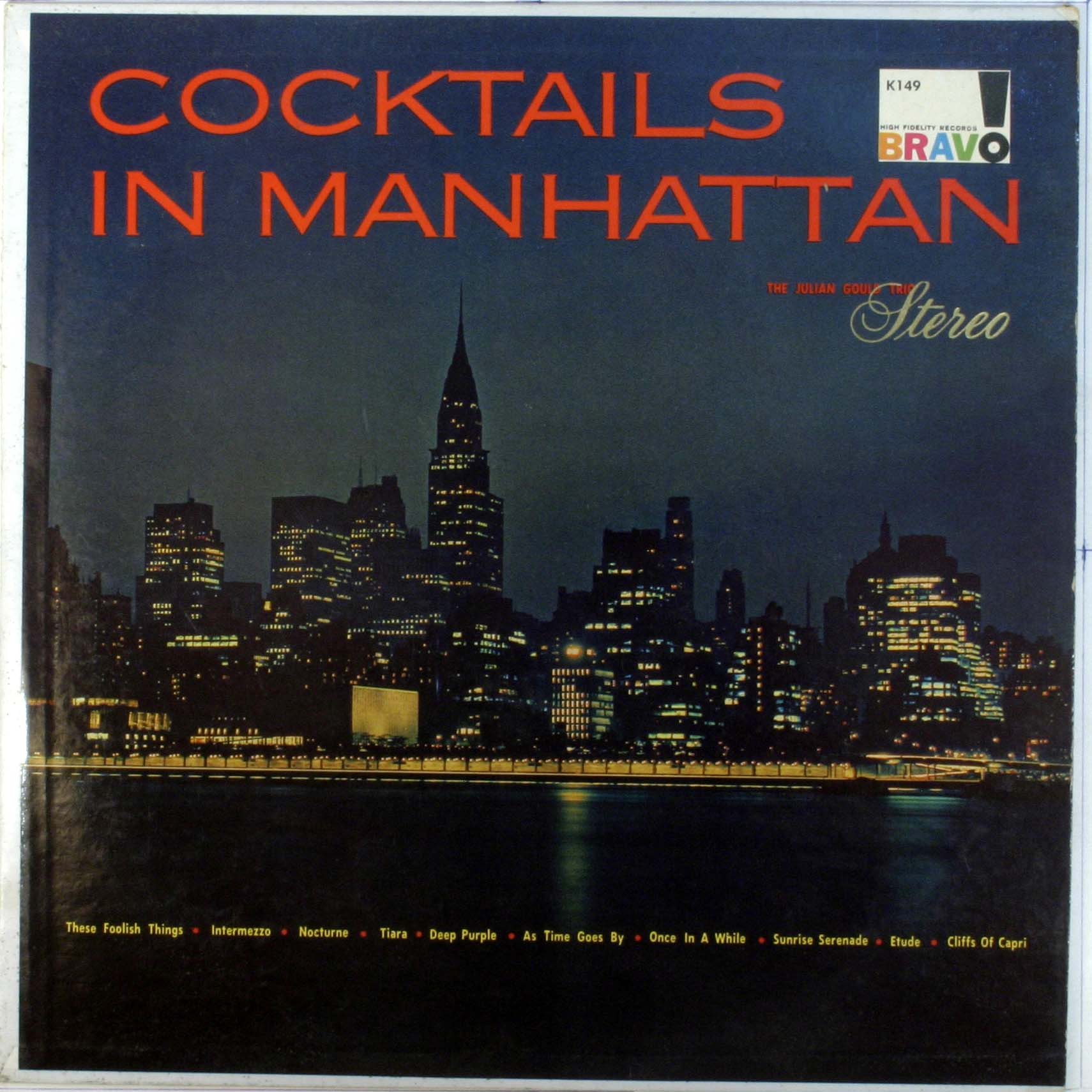 Cocktails In Manhattan