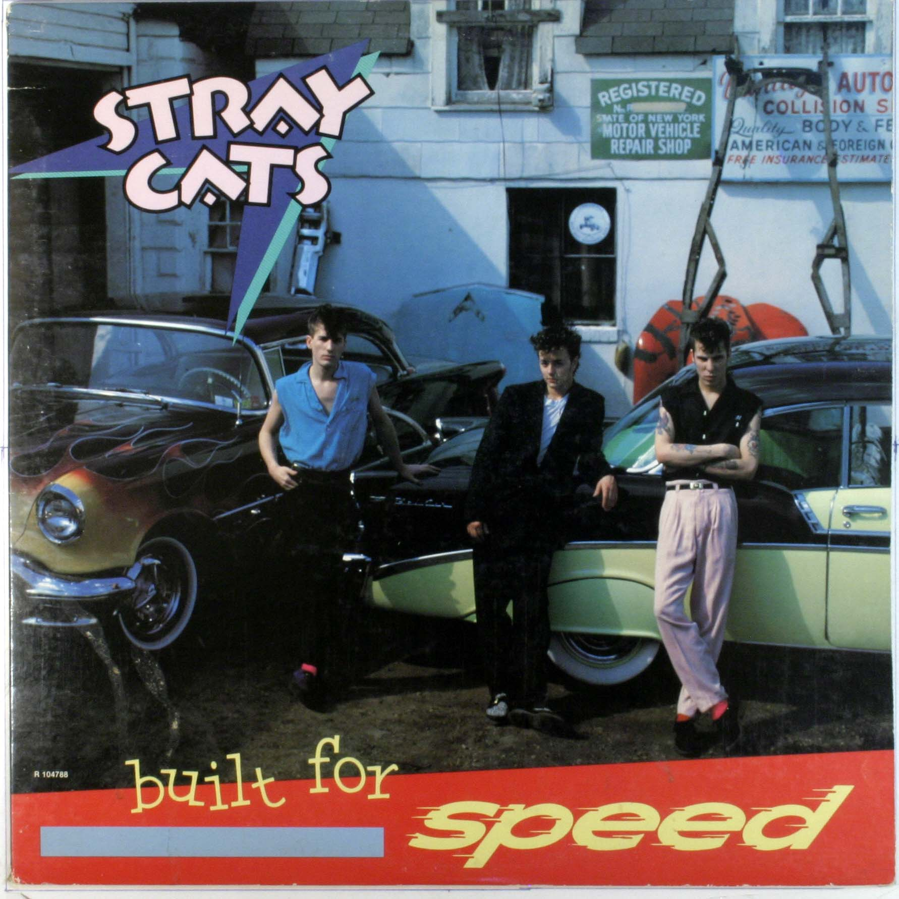 Stray Cats - Built For Speed Single