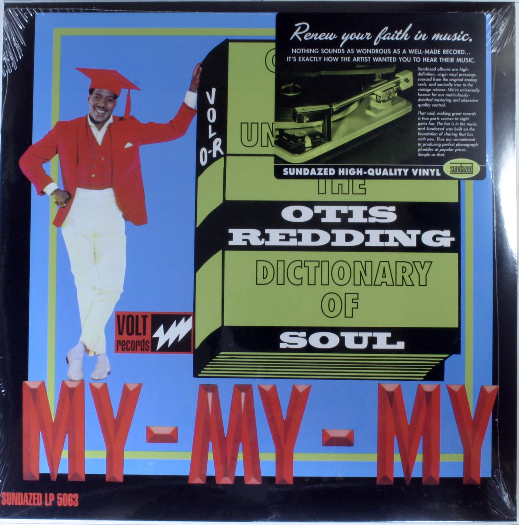 Otis Redding - The Otis Redding Dictionary Of Soul - Complete & Unbelievable