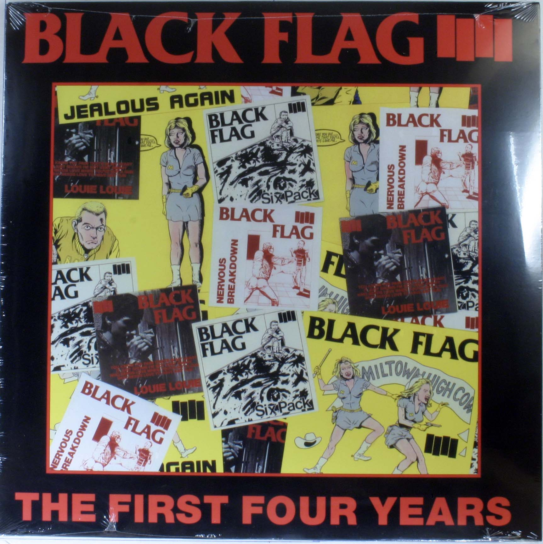 Black Flag - The First Four Years Album