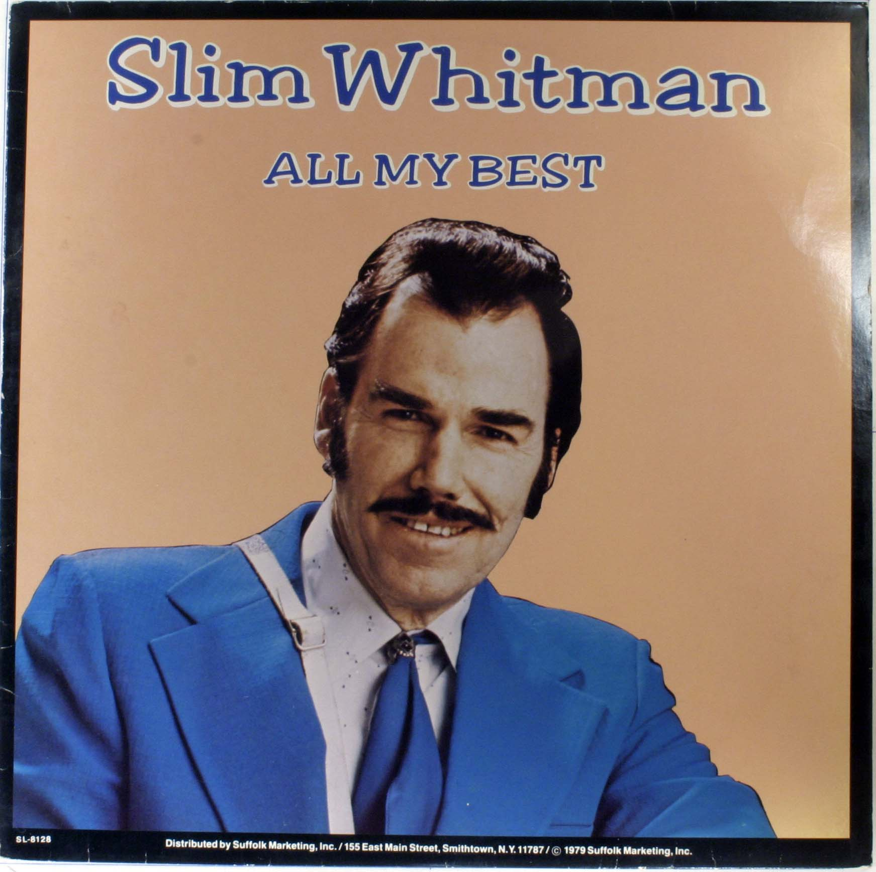 Slim Whitman All My Best Records Lps Vinyl And Cds