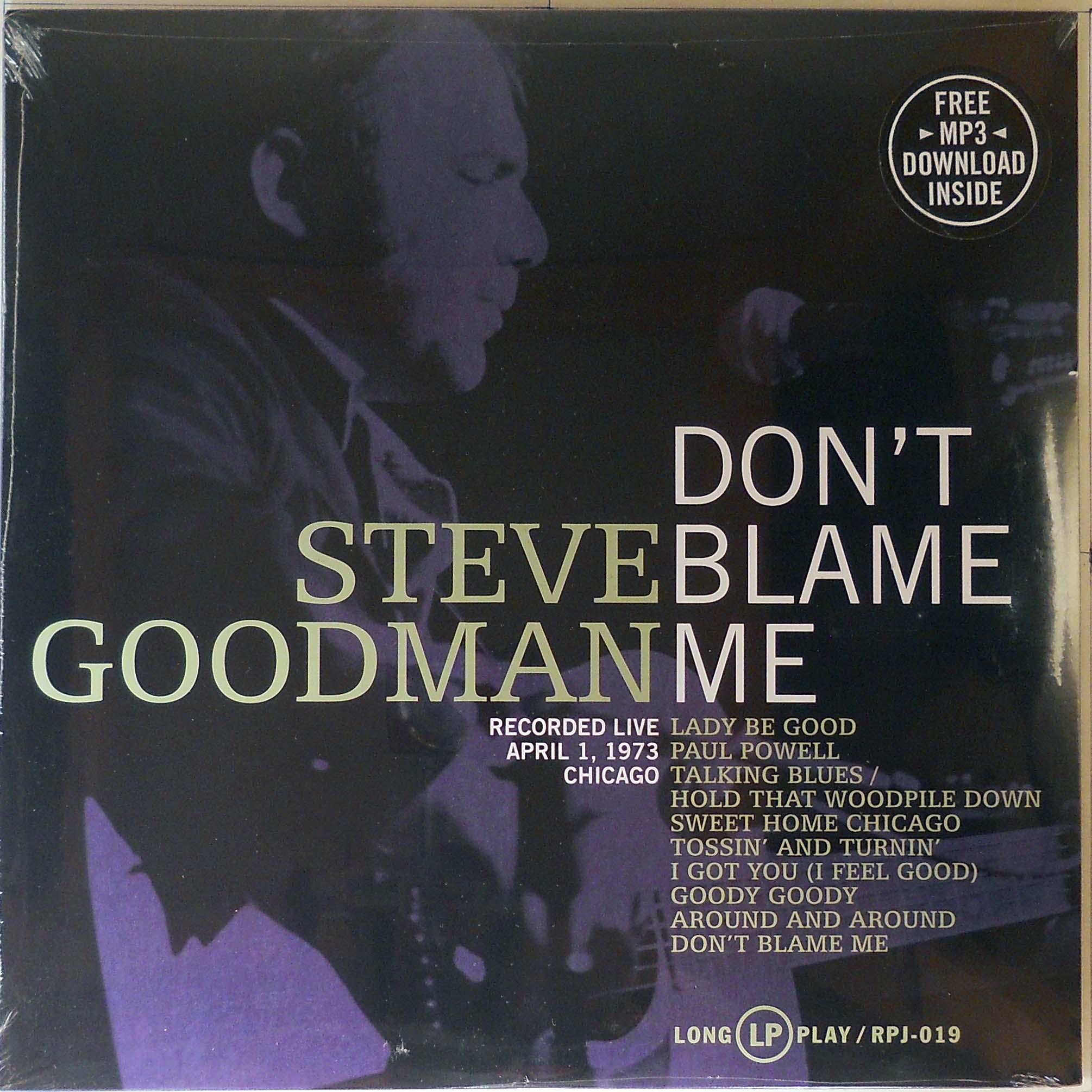 Steve Goodman - Don't Blame Me