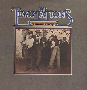 Temptations - House Party LP