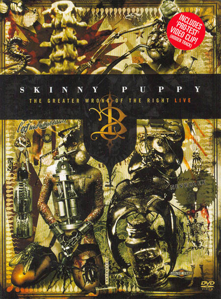 Skinny Puppy - The Greater Wrong Of The Right (live)
